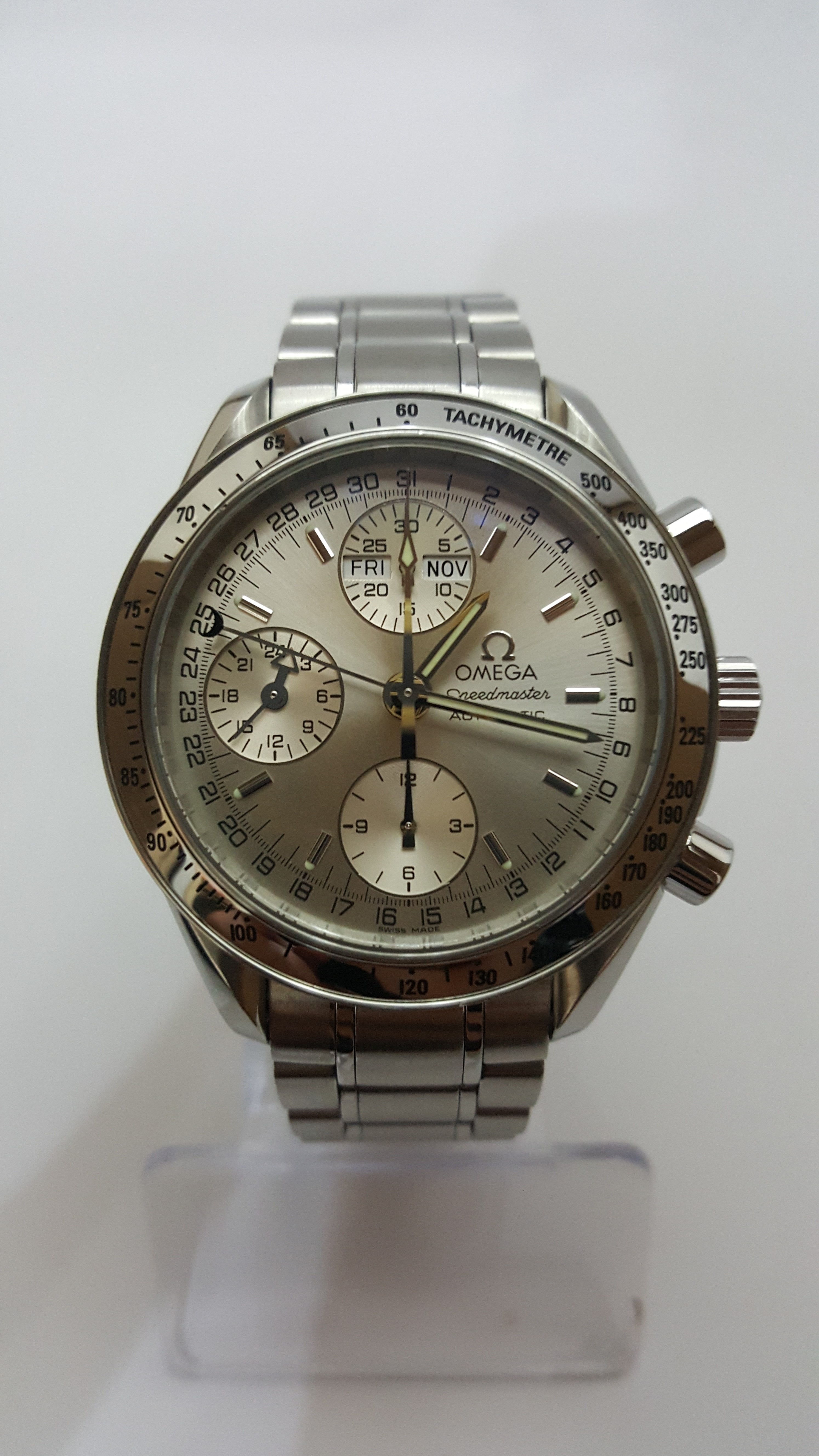 omega speedmaster day date 2005 Omega speedmaster day date mens watch, model 352050 , new and authentic, free shipping.