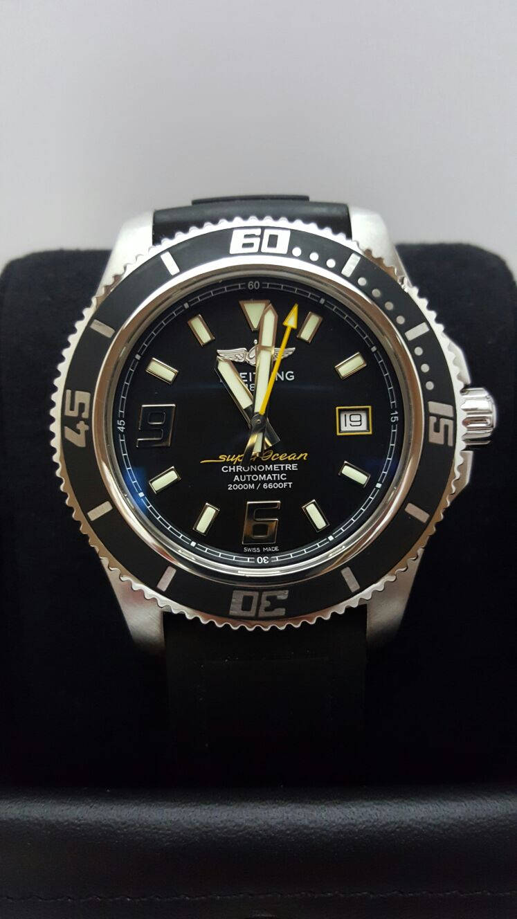 Sold Breitling Superocean Abyss 44 Pre Owned Watches